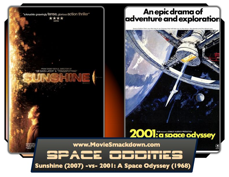 Sunshine -vs- 2001: A Space Odyssey