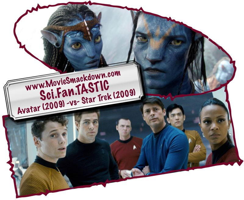 Avatar (2009) -vs- Star Trek (2009)