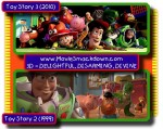Toy Story 3 -vs- Toy Story 2