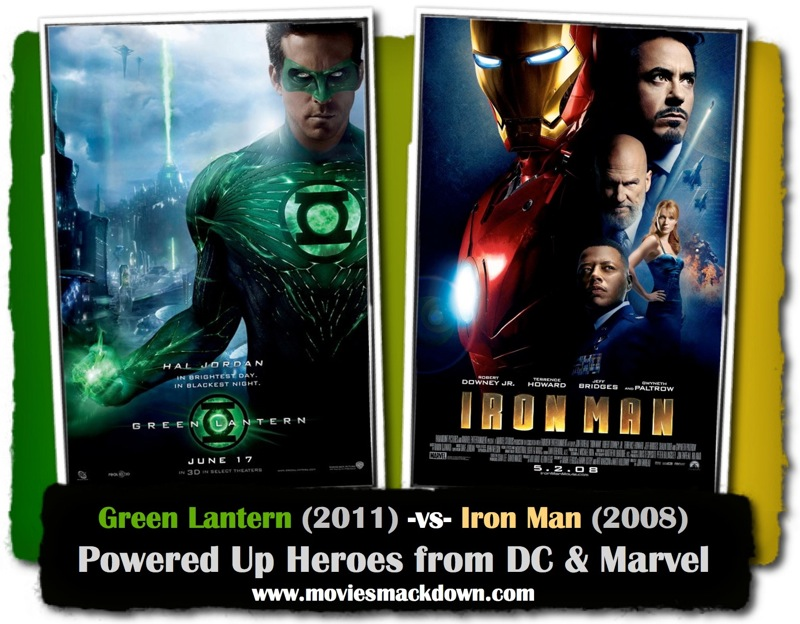 Green Lantern -vs- Iron Man