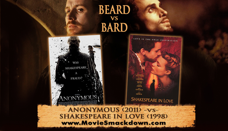 Anonymous (2011) -vs- Shakespeare in Love (1998)