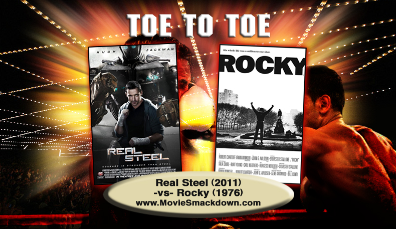 Real Steal (2011) -vs- Rocky (1976)