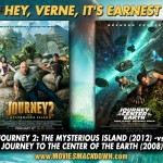 Journey 2: The Mysterious Island (2012) -vs- Journey to the Center of the Earth (2008)