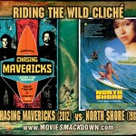 Chasing Mavericks (2012) vs North Shore (1987) Big Wave Surfing