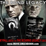 Skyfall (2012) vs Bourne Legacy (2012) | Bond and Bourne
